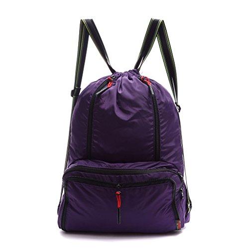 Drawstring Backpack Foldable Sackpack Lightweight