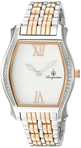 Burgmeister Women's BM806-917 Analog Display Quartz Rose Gold Watch