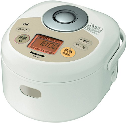 Panasonic IH Jar Rice Cooker SR-KA051-N Noble champagne (Japan Import)