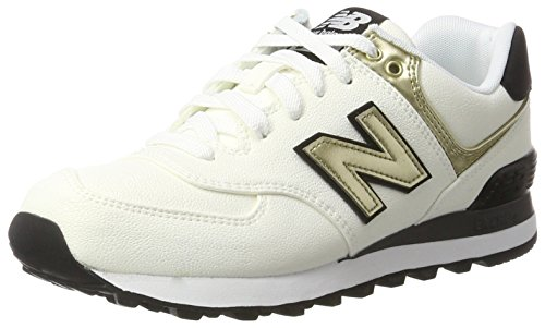 Balance Bianco New Sneaker 574 white Donna UqdwCd4n