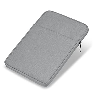 Tablet Sleeve case 10 inch-GOOJODOQ Waterproof Fabric Laptop Bag for 9.7-10.5 inch iPad/9.7