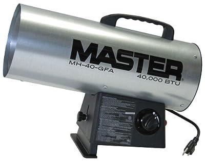 Master MH-40-GFA Master 40000 BTU LP Forced Air Heater