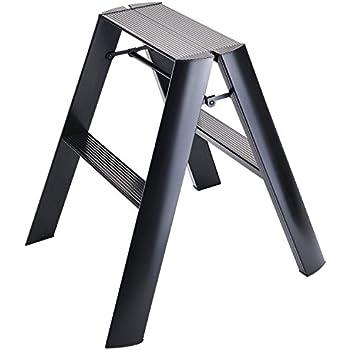 Hasegawa Ladders  Step Stool, Black