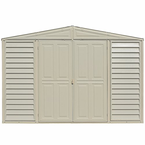 (Duramax Woodbridge 10.5 x 5 Shed with Foundation)