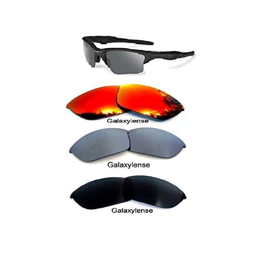 ee44978c24 galaxylense Hombre Lentes De Repuesto Para Oakley Half Jacket 2.0 Gafas de  sol color negro/