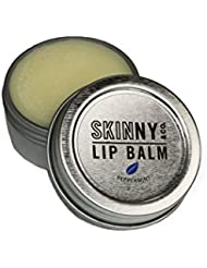Skinny & Co. Coconut Oil Peppermint Essential oil Lip Balm 100% Raw with Vitamin E ONLY 5 INGREDIENTS 0.5 oz. Tin (2 pack)
