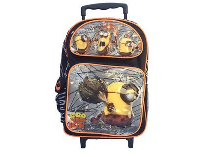 Large Rolling Backpack - Despicable Me - Crominion Minions New 116402   B011M9LB28