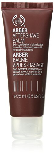 The Body Shop Arber Aftershave Balm, Paraben-Free, 2.5 Fl. Oz. (Shaving Shop)
