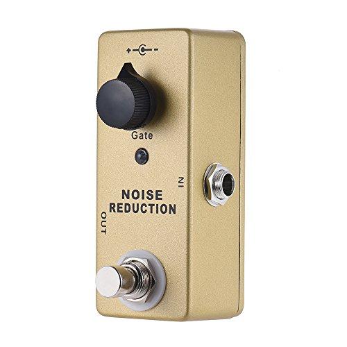 Walmeck Noise Reducer Guitar Pedal Gate Noise Killer Guitar Effect Pedal
