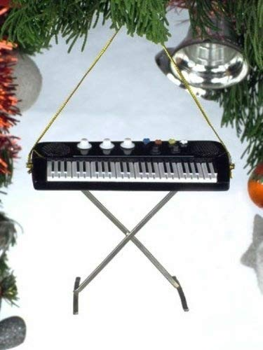 Broadway Black Upright Piano Musical Instrument Ornament 3.5 inches