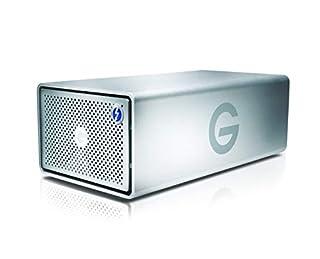 G-Technology 8TB G-RAID with Thunderbolt 3, USB-C (USB 3.1 Gen 2), and HDMI, Removable Dual Drive Storage System, Silver - 0G05748-1 (B071HKLP7K)   Amazon price tracker / tracking, Amazon price history charts, Amazon price watches, Amazon price drop alerts