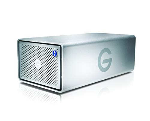 G-Technology 20TB G-RAID with Thunderbolt 3, USB-C