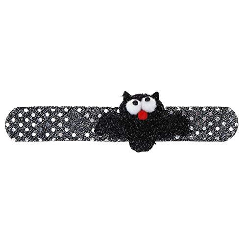 Laz-Tipa - Helloween Decortion 1pc Patting Circle Bracelet Halloween Xmas Decoration Children Kids Adult Gift Party -