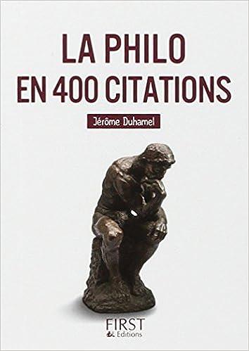 Lire un Petit livre de - La Philo en 400 citations pdf