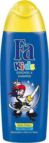 Fa Kids Duschgel & Shampoo Pirat, 6er Pack (6 x 250 ml)