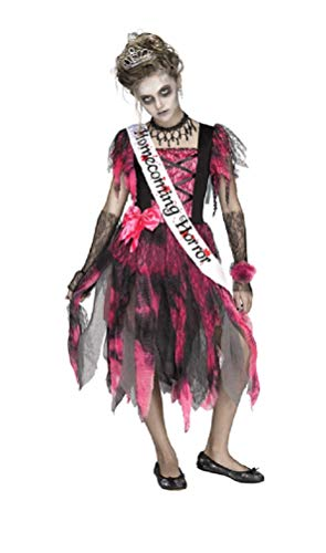 (Wholesale Merchandisers LLC Girls Homecoming Horror Zombie Halloween Costume Sz)