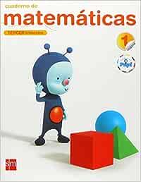 Cuaderno de matemáticas. 1 Primaria, 3 Trimestre. Conecta