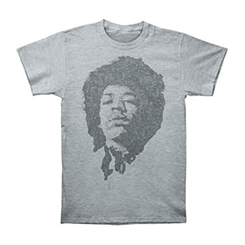 Jimi Hendrix Men's Stone Free Slim Fit T-shirt Medium Athletic (Jimi Hendrix Stone Free T-shirt)