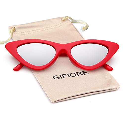 70a19c38b80a Gifiore Retro Vintage Cateye Sunglasses for Women Clout Goggles Plastic  Frame Glasses - Buy Online in UAE. | Shoes Products in the UAE - See  Prices, ...
