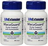 (US) Life Extension Macuguard Ocular Support Plus Astaxanthin, 60 softgels (2 PACK)