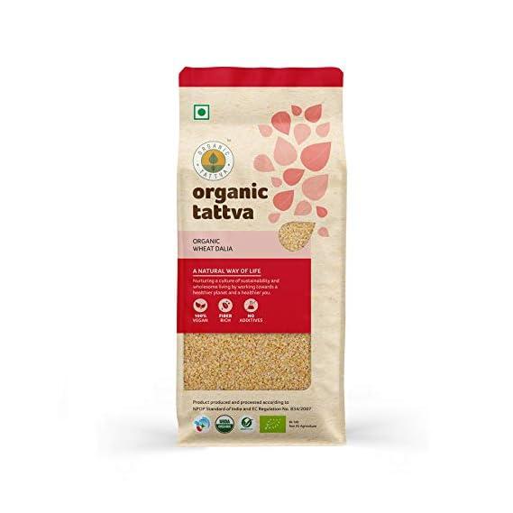 Organic Tattva Wheat Dalia, 500g