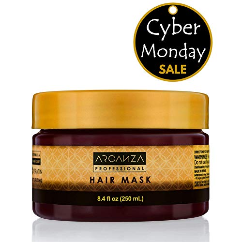 Arganza Argan Oil Hair Mask – Keratin Hair Mask Deep Condi