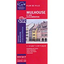 IGN PLAN : MULHOUSE NO.72208 (+LIVRET)