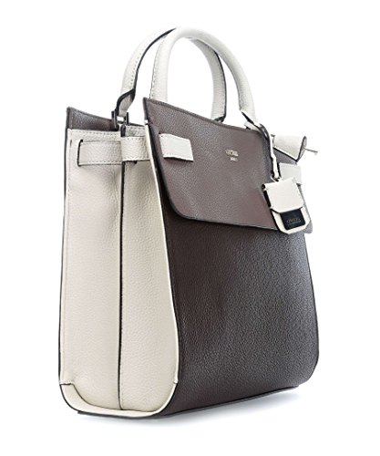 BORSA SHOPPERS DONNA GUESS (BROWN) 34 x 30 x 13 cm