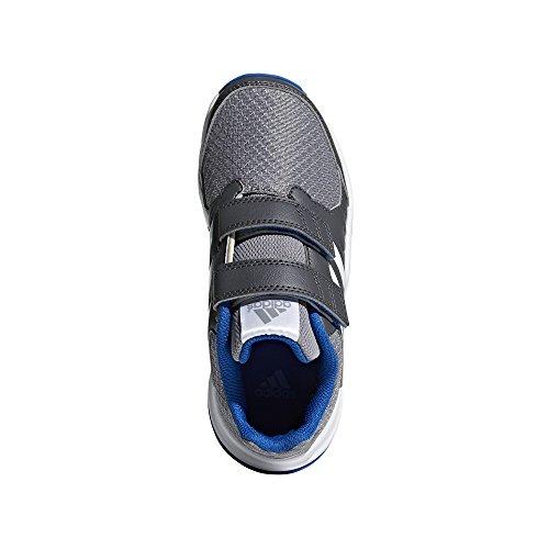 adidas FORTAGYM CF K, Zapatillas de Deporte Unisex Niños Gris (Gricin / Ftwbla / Gritre 000)