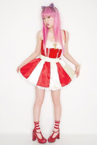 LLL Candy Cane skirt Apple (japan import)]()