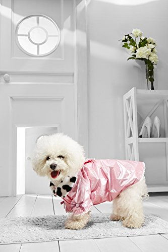 Halloween Cute Quick Costumes But (Small Dog Princess Coat For Bichon Frise Dachshund Westie Pointer Havanese (Medium Size, pink, white,)