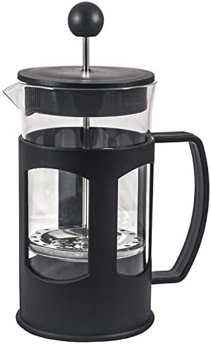 French Press Single Serving Coffee Maker, Affordable Coffee Brewer with Highest Filtration Black