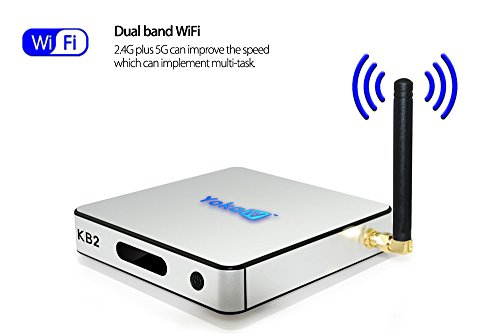 [YOKA KB2 WiFi & Bluetooth Smart Android 6.0 TV Box] (Child Cheese Costumes)