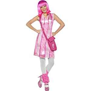 Women's Lazy Town Stephanie Costume (disfraz)