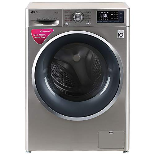 LG 7 kg Inverter Wi-Fi Fully-Automatic Front Loading Washing Machine (FHT1207SWS, STS-VCM, Inbuilt Heater)