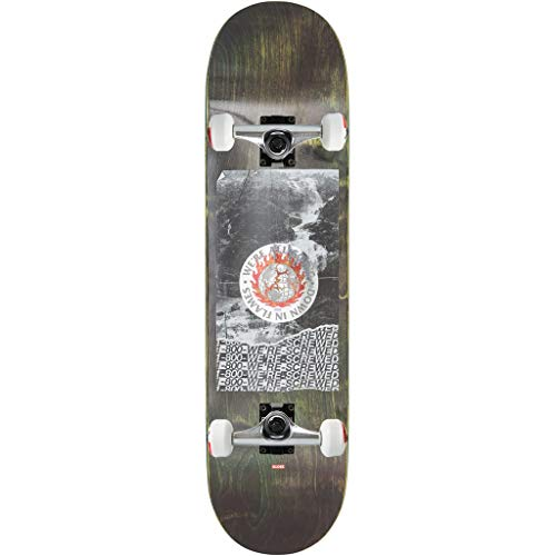 Flame Complete Skateboard - GLOBE Skateboards Complete G2 in Flames Holo/Flood 8.375