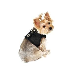 SimplyWag Dog Body Harness, X-Small, Black