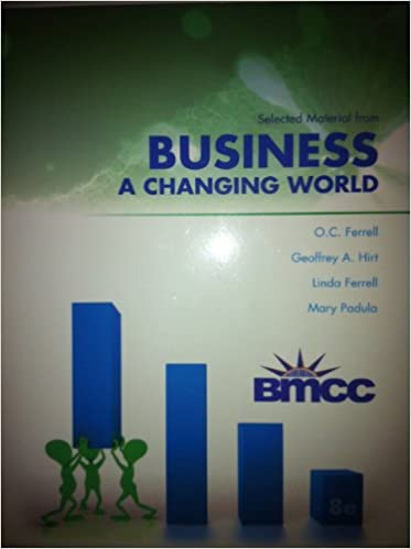 Book Business a Changing World 8th Edition (Valued edition for BMCC)