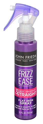 John Frieda Frizz-Ease 3 Day Straight Flat Iron Spray 3.5 Ounce (103ml) (3 Pack)