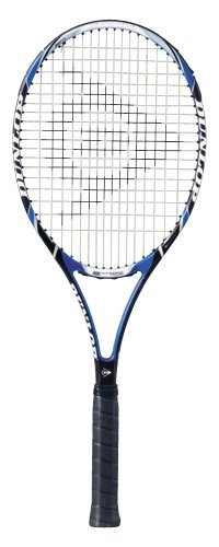 Dunlop Sports Aerogel 4D 200 Tour, Strung, with cover, Tennis Racquet (4 3/8)