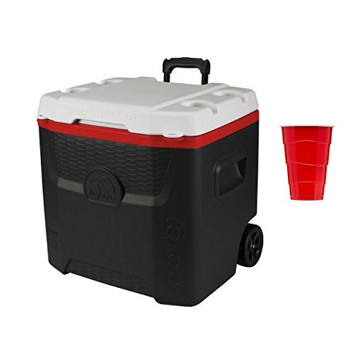 Igloo Products Corp  Igloo 13 Gallon Quantum Roller W 500 Ml Party Cups  120 Count