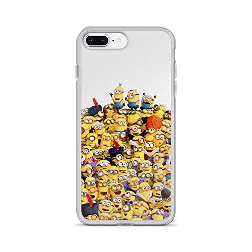 iPhone 7 Plus/8 Plus Pure Clear Case Cases Cover Chaos Funny Guys ()