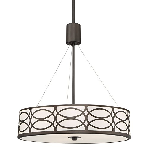 18 Inch Drum Pendant Light in US - 5