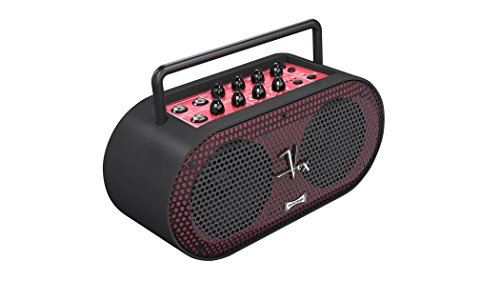 VOX SB-MINI-BK Soundbox Mini tragbarer Multifunktions-Amp für A- und E-Gitarre