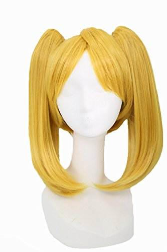 (Powerpuff Girls Cosplay Bubbles Wig Pre-styled Wig Hair Costume Accessories Xcoser )