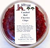 Candied Red Cherry Chips, 1 lb.