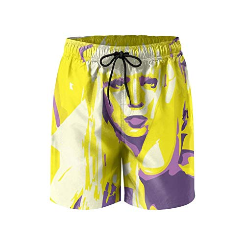 Artpop-Lady-gaga- Board Shorts for Men Surfing Quick-Dry Swimming Trunks ()