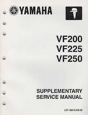 Used, 2011 YAMAHA OUTBOARD VF200, 225, 250 SERVICE MANUAL for sale  Delivered anywhere in USA