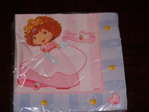 Strawberry Shortcake Lunch Napkins - Strawberry Shortcake Princess Lunch Napkin