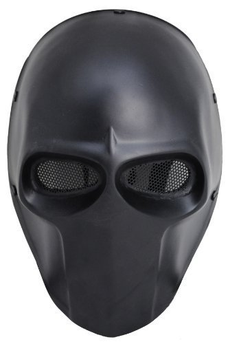 FMA New Blcak Wire Mesh Full Face Protection Paintball Skull Mask Cosplay Halloween L636 by FMA